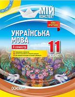 Українська мова 11 клас Мій Конспект 2 семестр