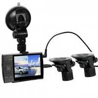 Автомобильный видеорегистратор S3000 A+ 2 камеры-присоски, авторегистраторы, автоэлектроника, автомобильные