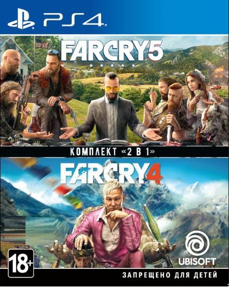 Комплект «Far Cry 4» + «Far Cry 5» [Blu-Ray диск] (PlayStation)