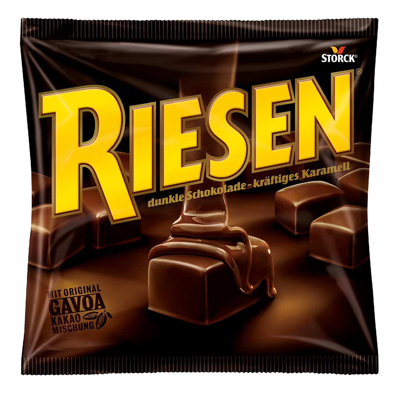 Storck Riesen Карамель в тёмном шоколаде