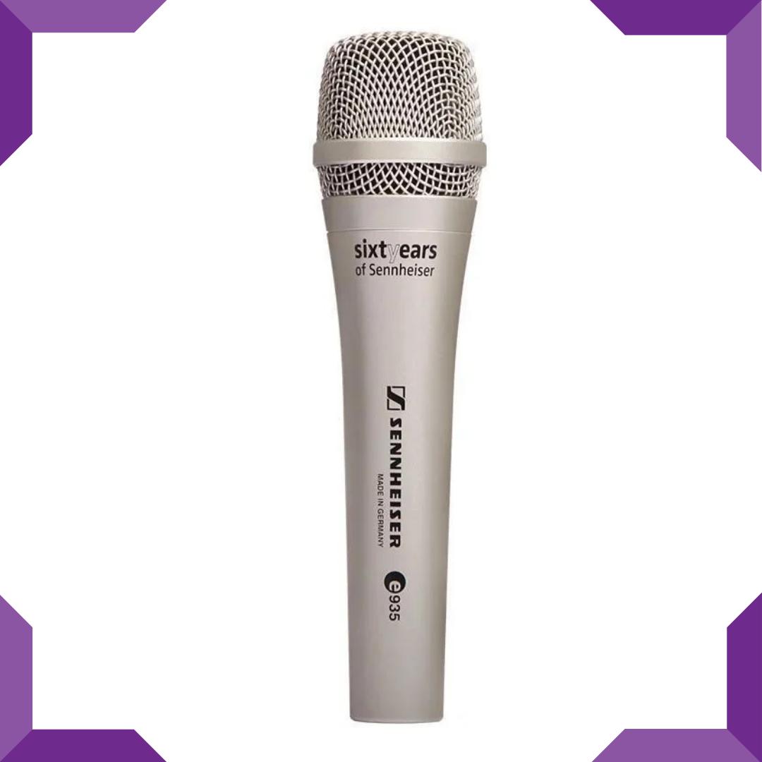 Мікрофон ручної DM E935,золотистий