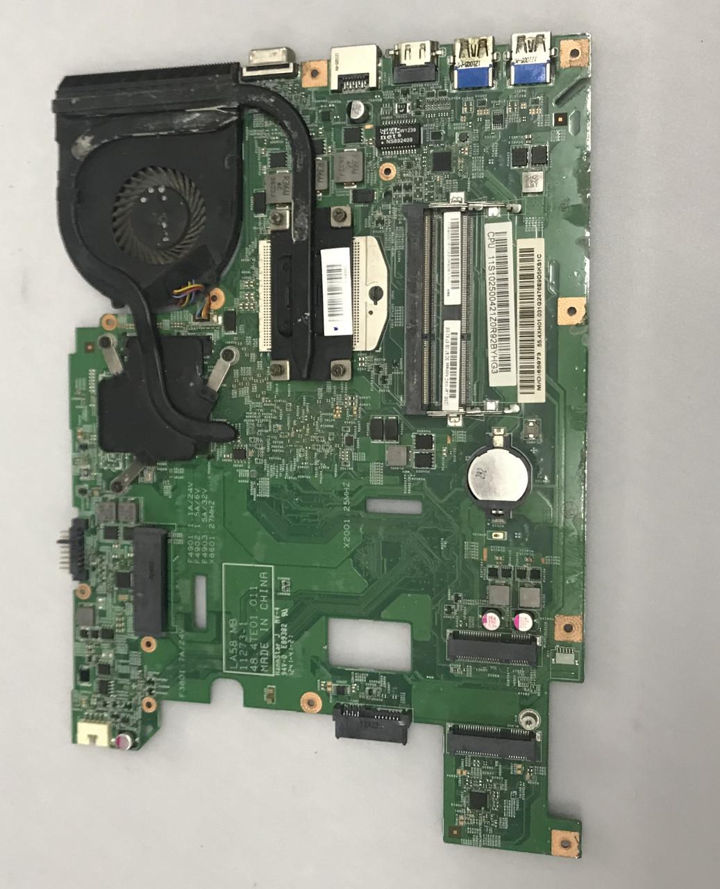 Ноутбук Lenovo V580c на запчасти (материнская плата 48.4TE01.011, 48.TE02.011, 48.4TE03.011, KSB06105HB)
