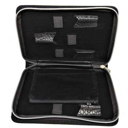 Чехол для 6-ти парикмахерских ножниц SWAY Black Snake Large, фото 2