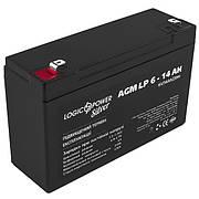 Акумулятор AGM LogicPower LP 6-14 AH