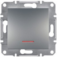 Кнопка с подсветкой Сталь Asfora, EPH1600162