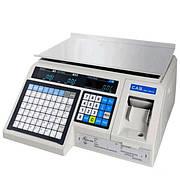Весы с печатью этикеток CAS LP (в. 1.6) RS-232 без стойки (6 кг, 15 кг, 30 кг)