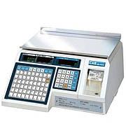 Весы с печатью этикеток CAS LP (в. 1.6) Ethernet без стойки (6 кг, 15 кг, 30 кг)