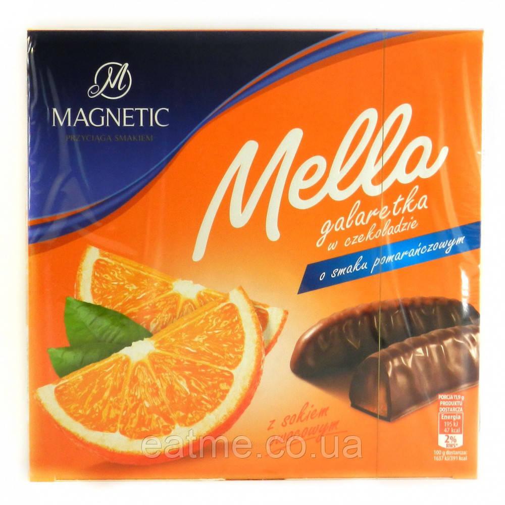 Апельсиновый мармелад в молочном шоколаде