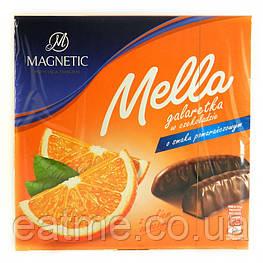 Mella Апельсиновый мармелад в молочном шоколаде