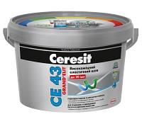 Высокопрочный эластичный цветной шов до 20 мм Ceresit CE 43 (антрацит)