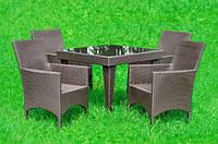 Комплект из искусственного ротанга Muskat, мебель из искусственного ротанга, комплект из ротанга