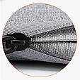 Чехол для Макбук Macbook Air/Pro 13,3'' с ручкой - темно-серый, фото 9