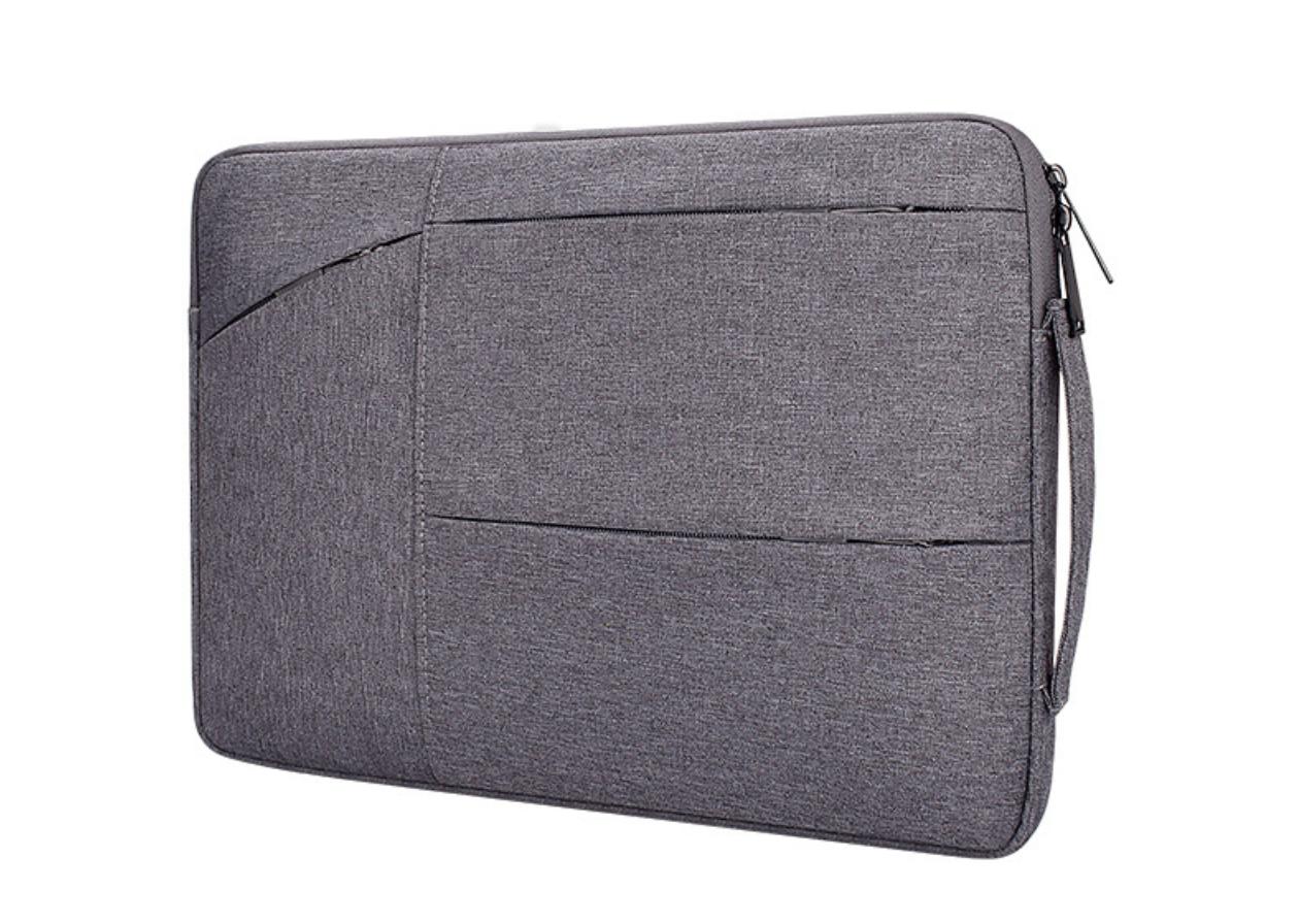 Чехол для Макбук Macbook Air/Pro 13,3'' с ручкой - темно-серый