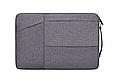 Чехол для Макбук Macbook Air/Pro 13,3'' с ручкой - темно-серый, фото 2