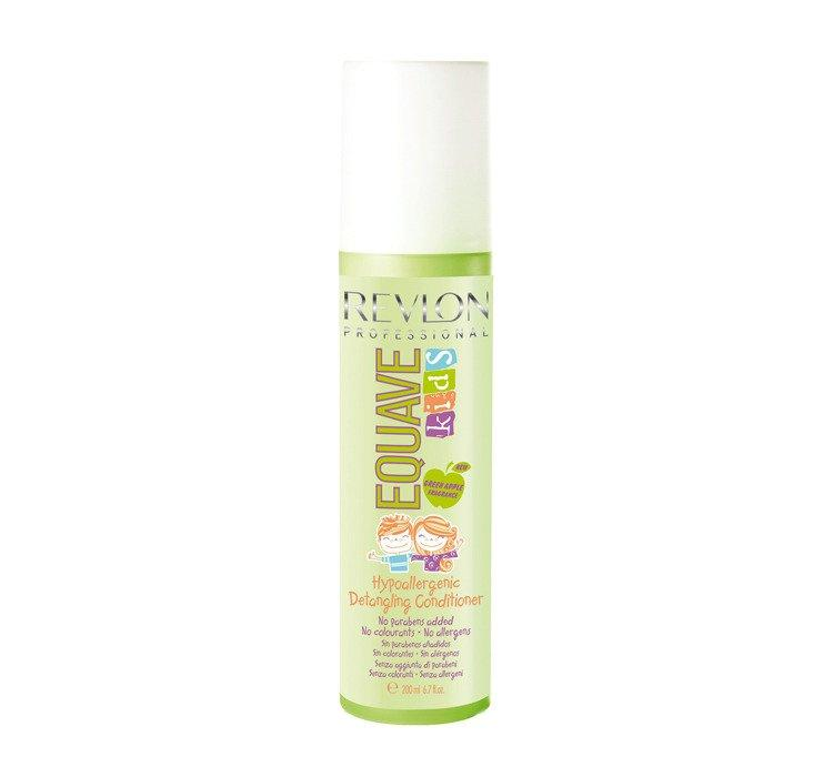 Revlon Equave Kids Hypoallergenic Detangling Conditioner Green Apple - Спрей-кондиционер для детей