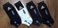 """Мужские стрейчевые носки,сетка,короткие в стиле""""Adidas A"""" Турция 41-45, фото 1"""