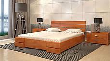 Кровать Arbordrev Дали Люкс (Бук), фото 3