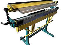 Сегментный листогибочный станок СЛ 1400 PsTech | Листогиб ручной сегментный