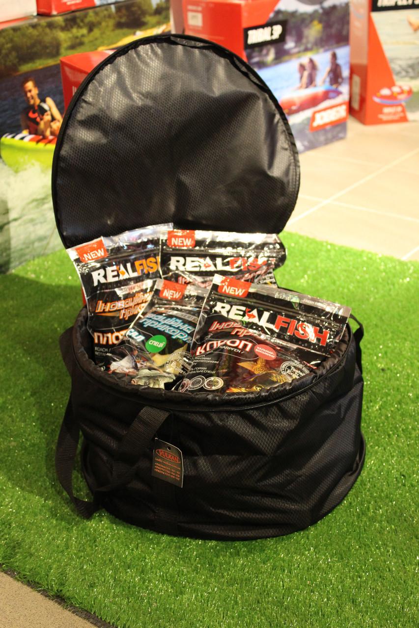 Карпова сумка-відро для замішування підгодовувань 30л (40 * 25см)