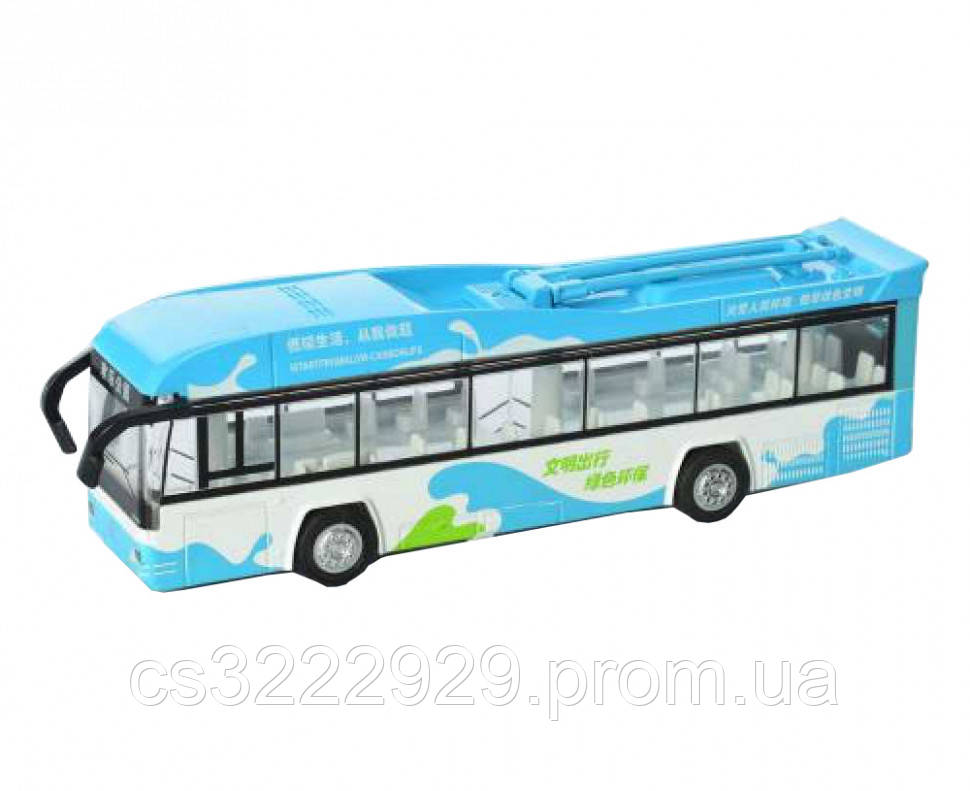 Троллейбус детский MS1602A (Blue)