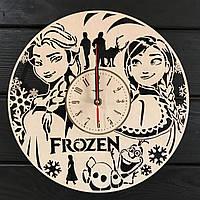 Часы в детскую комнату «Холодное сердце», фото 1