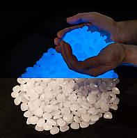 Светящиеся камни для декора, дизайна, аквариумов и т.д Белый (10шт)