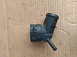 Патрубок системи охолодженя Skoda Oktavia VW 1k0122291, фото 4