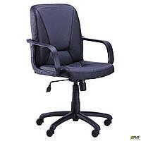 Кресло офисное AMF Лига Пластик Сетка серое