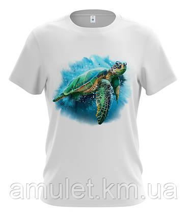 """Футболка чоловіча """"Морська Черепаха"""" XXL, фото 2"""