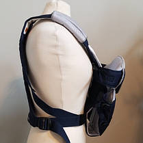 Ерго нагрудна рюкзак-кенгуру для немовлят Chicco Ultrasoft Magic Синій з сірим (1120710703), фото 3