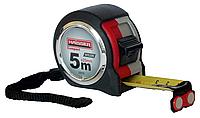 Рулетка 5мх25мм, Compact нейлон, 2 стопа, магнит//HAISSER