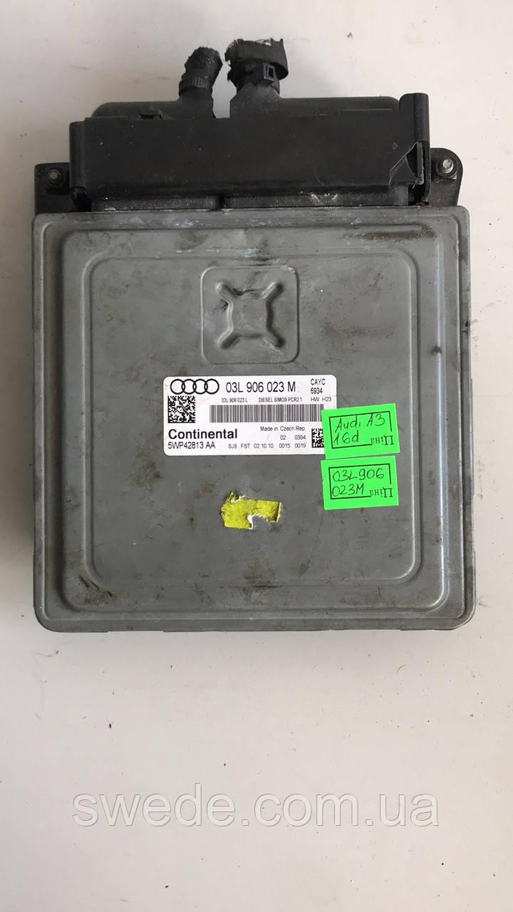 Блок управления двигателем Audi A3 1.6 TDI 2011 гг 03L906023M