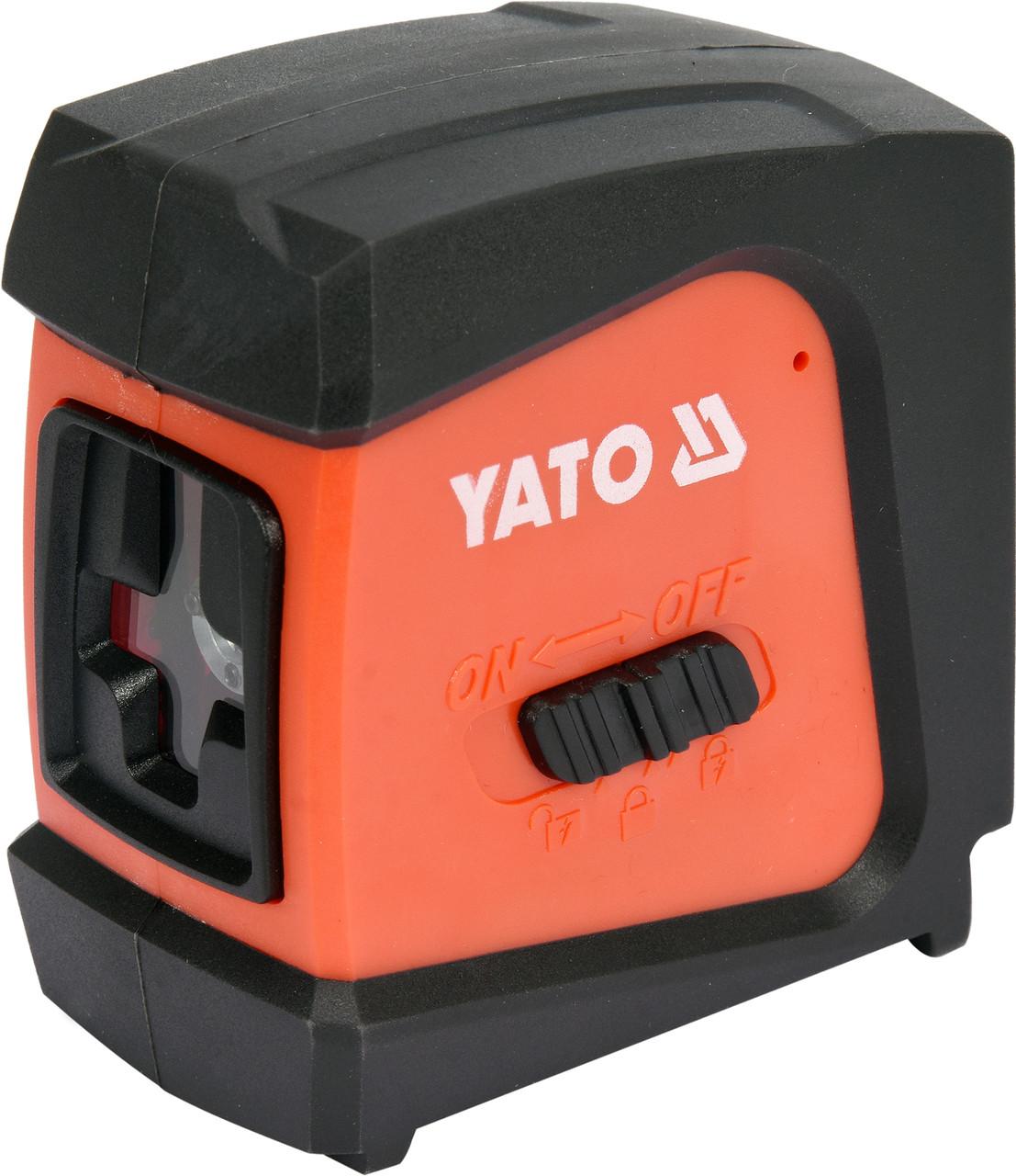 Нивелир лазерный самовыравнивающийся YATO дальность- 20 м, точность- ±1.5 мм / 5 м