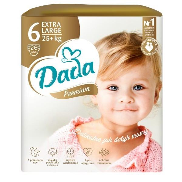 Dada Подгузники Dada Extra Care 6 lagre (16+) 26 шт