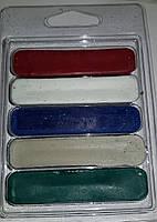 Абразивные полировальные пасты по металлу в наборе 5 видов
