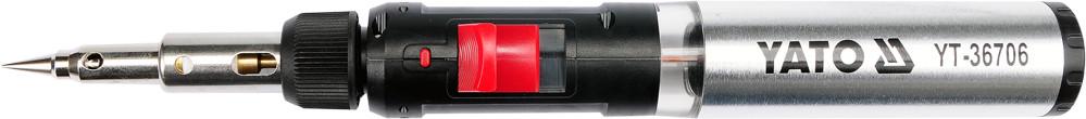 Паяльник газовий 3 в 1 YATO 30-125 Вт 450-1300°С з аксесуарами