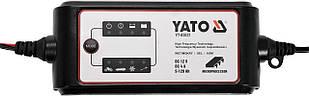 Перетворювач напруги YATO з мережі 230 В AC в 12 В DC, для заряджання акумуляторів; 4 А, 5-120 АГод