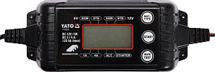 Перетворювач напруги YATO з мережі 230 В в DC 6/12 В, 1/4 А, макс. 120 Агод
