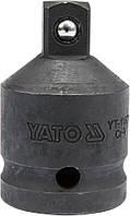 "Переходник ударный YATO 3/4""(F) - 1/2""(M) 55 мм"