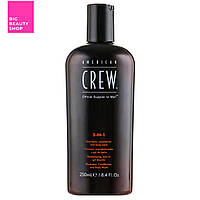 Средство по уходу за волосами и телом 3-в-1 American Crew Classic 250 мл