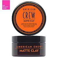 Моделирующая паста American Crew Clasic Matte Clay 85 мл