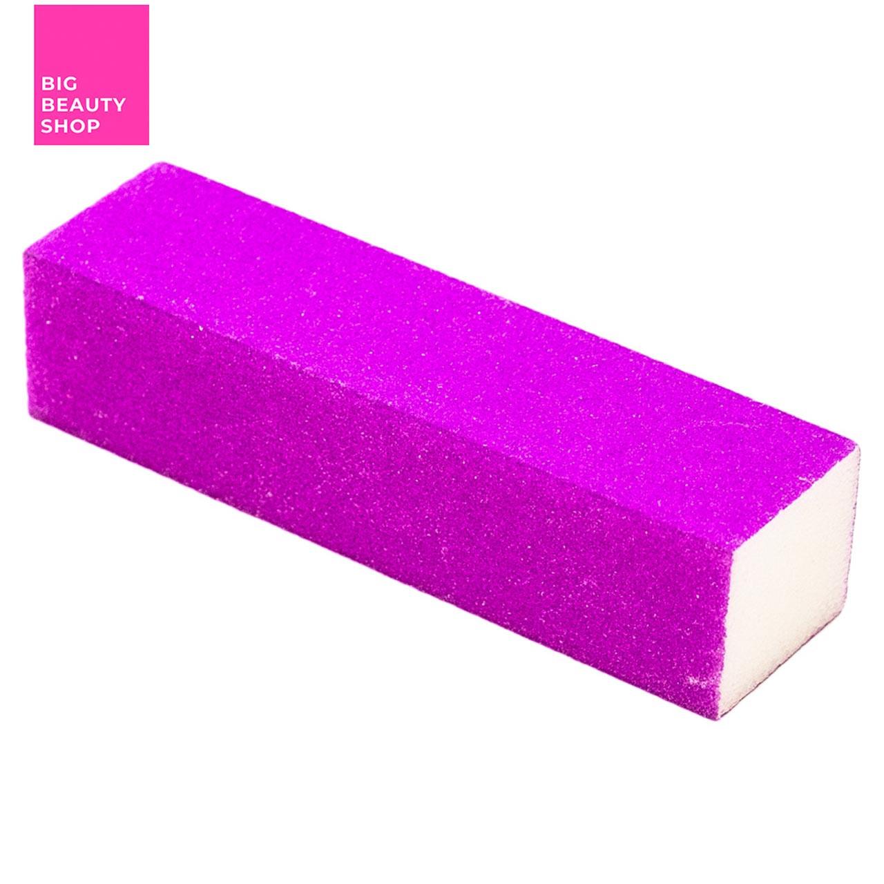 Баф для ногтей квадратный фиолетовый