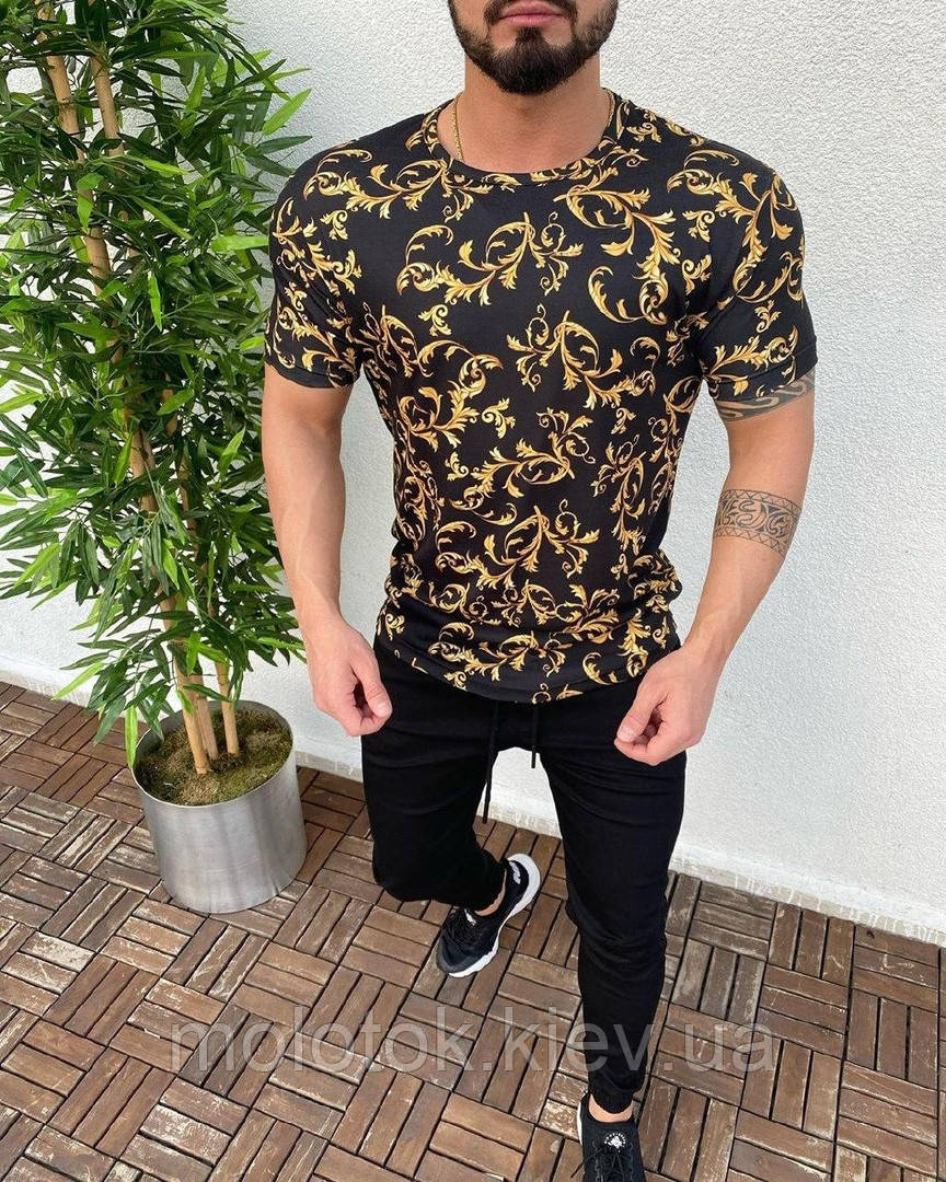 Чоловіча модна футболка ЛЮКС якості