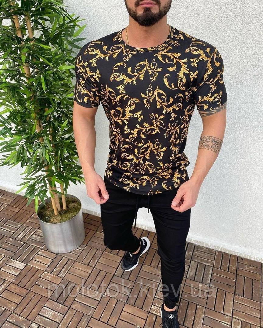 Мужская модная футболка ЛЮКС качества
