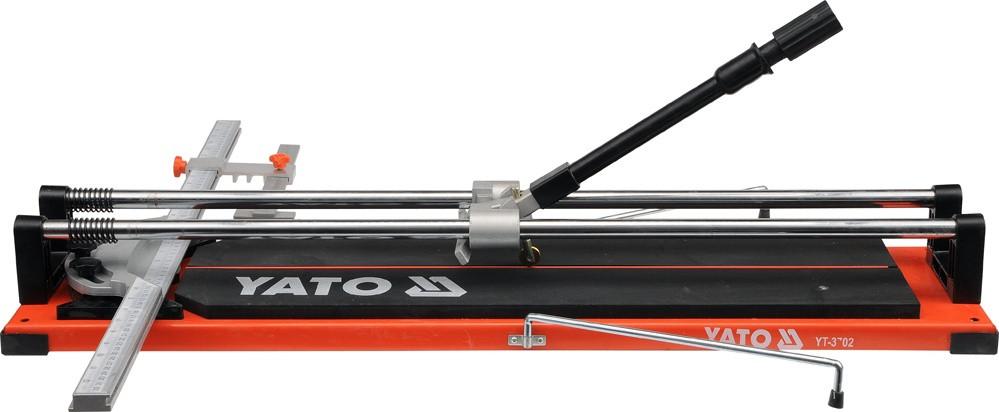 Плиткорез ручной YATO с подшипником и двумя направляющими 70 cм