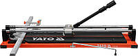 Плиткорез ручной YATO с подшипником и двумя направляющими 70 cм, фото 1