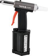 Пневмозаклепочник YATO для заклепок 2.4, 3.2, 4, 4.8, 5 мм 54 л/мин