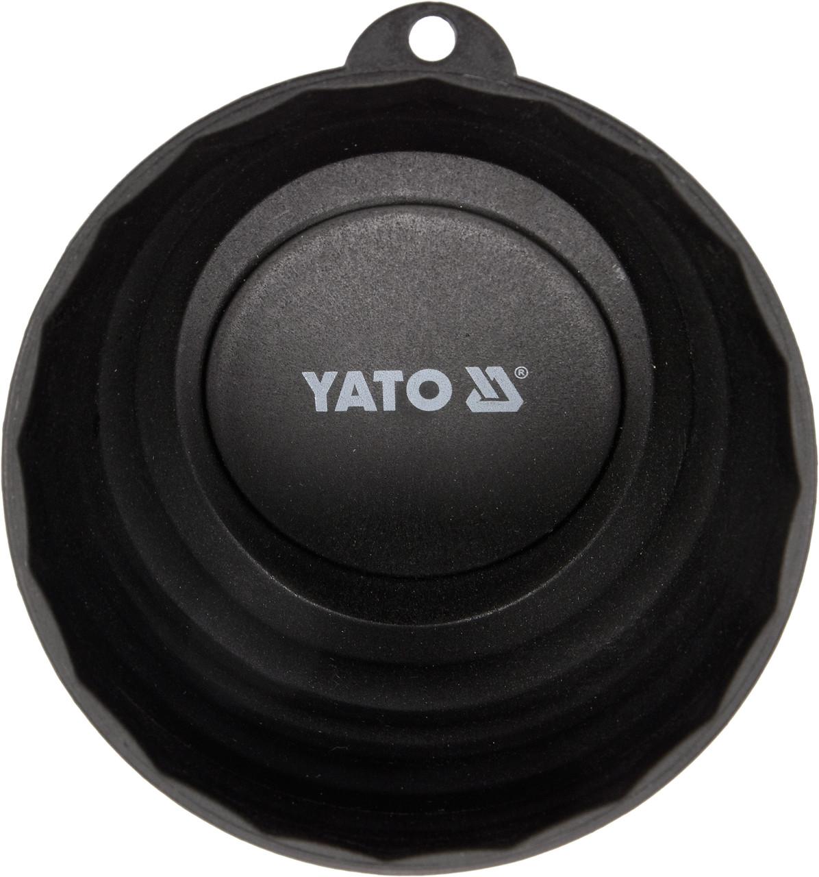 Посудина магнітна YATO Ø= 110 мм