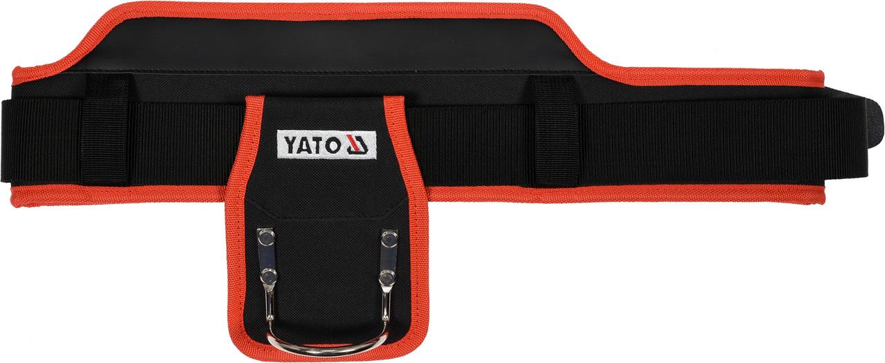 Пояс для инструментов с держателем для молотка YATO