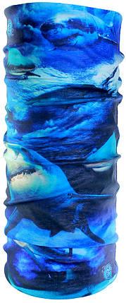 Бандана-трансформер JiaBao Синий (HB-R268), фото 2